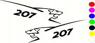 Peugeot 207 Grapics