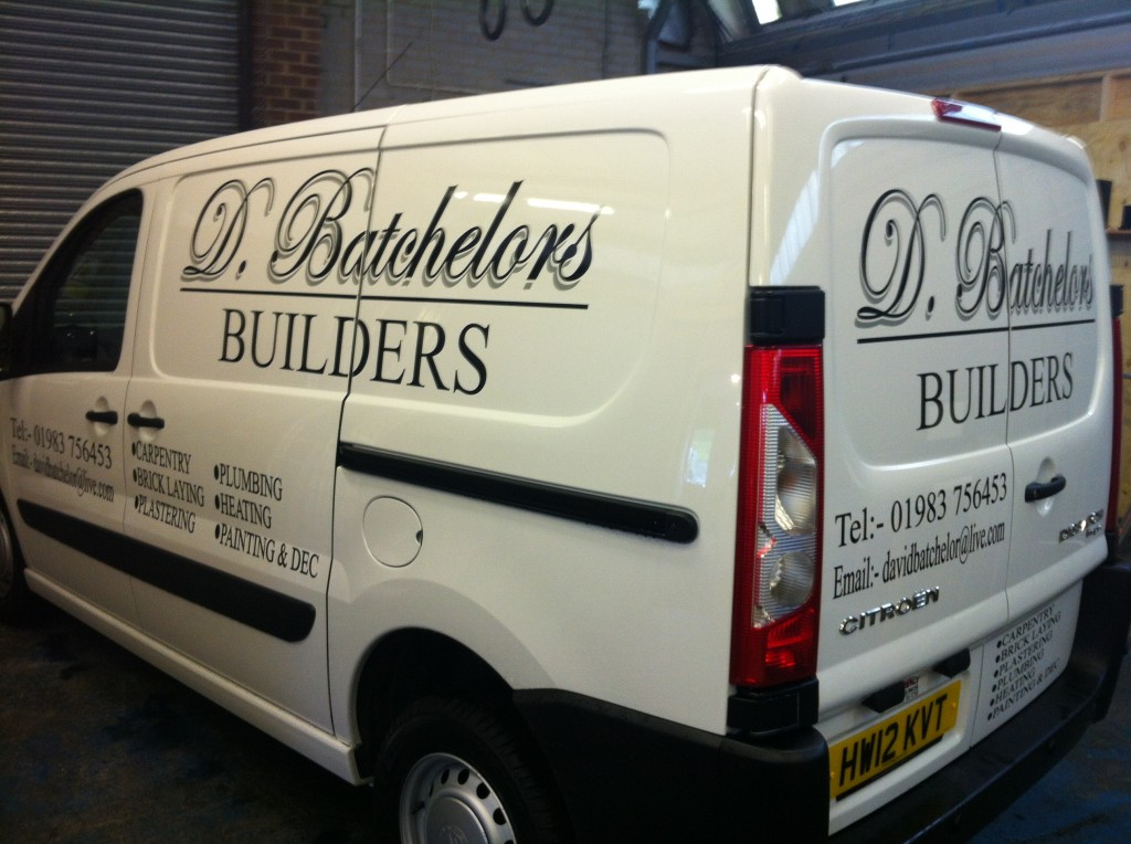 Van And Commercial Vehicle Signwriting Isle Of Wight