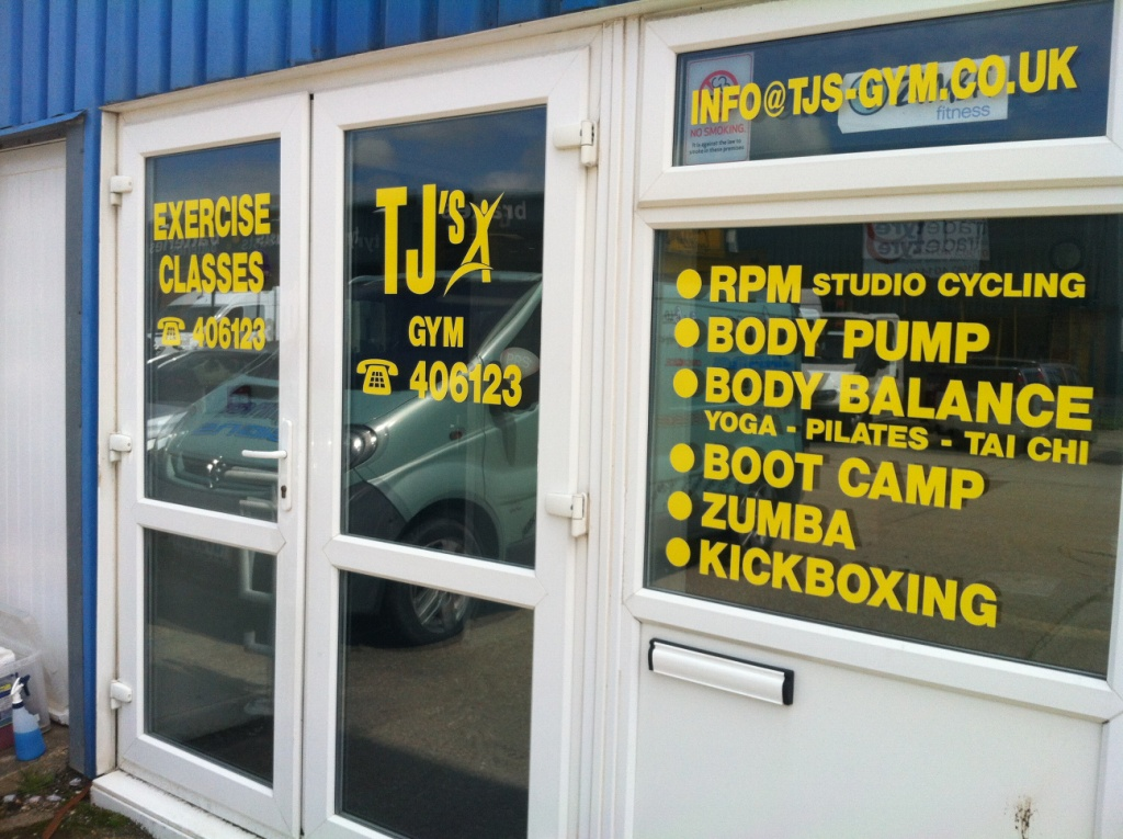Window Sign Writing