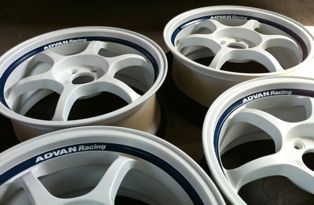 Re-furbished alloy wheels and new lettering