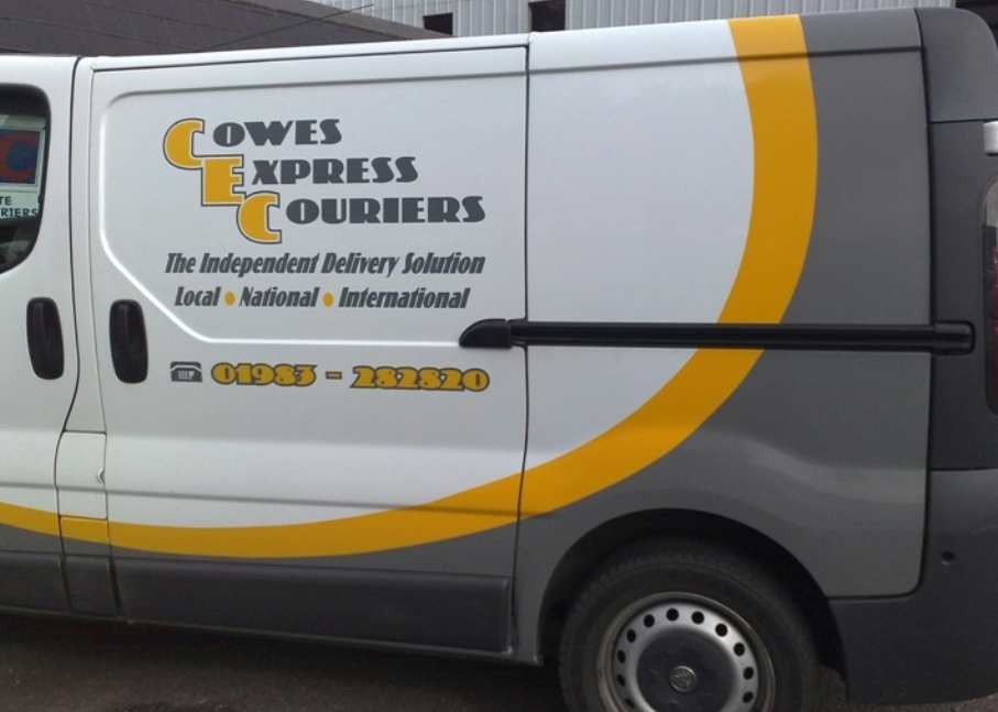 Cowes Express Couriers Vivaro