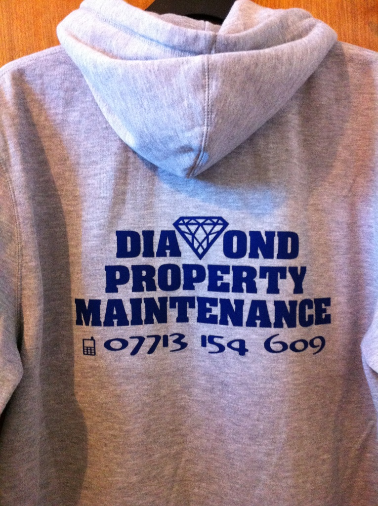 Diamond property hoody