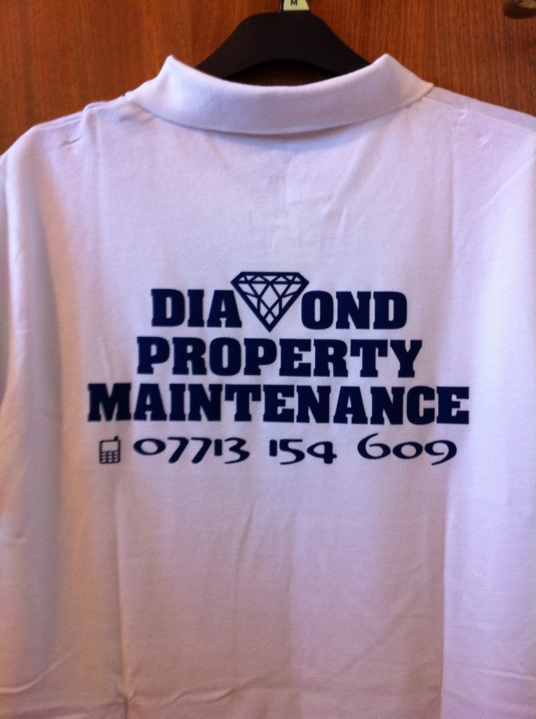 Diamond property polo shirt