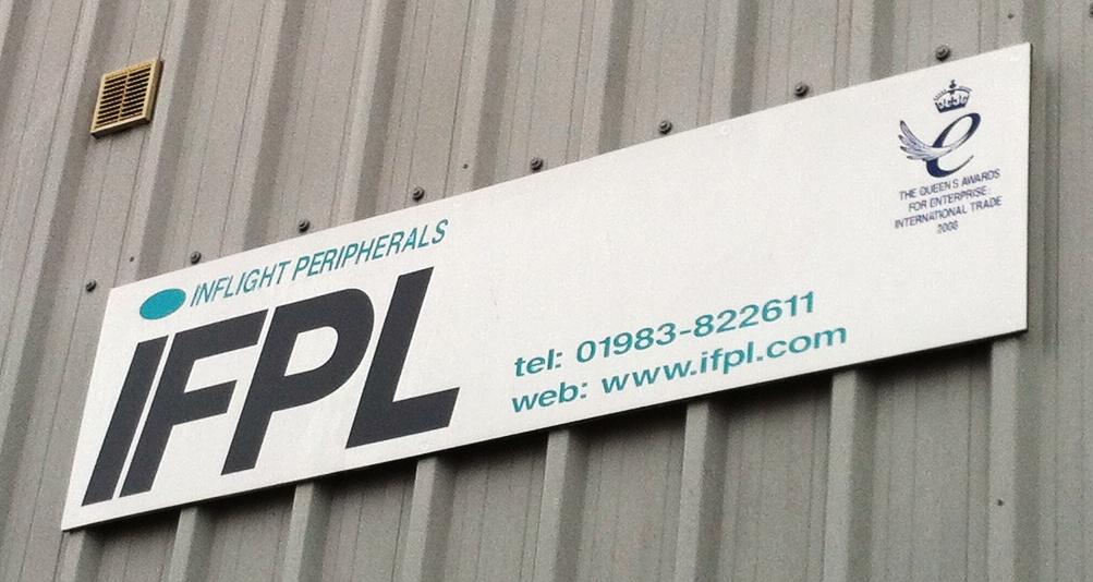 IFPL premises signs