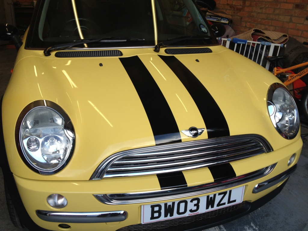 BMW Mini Viper stripes