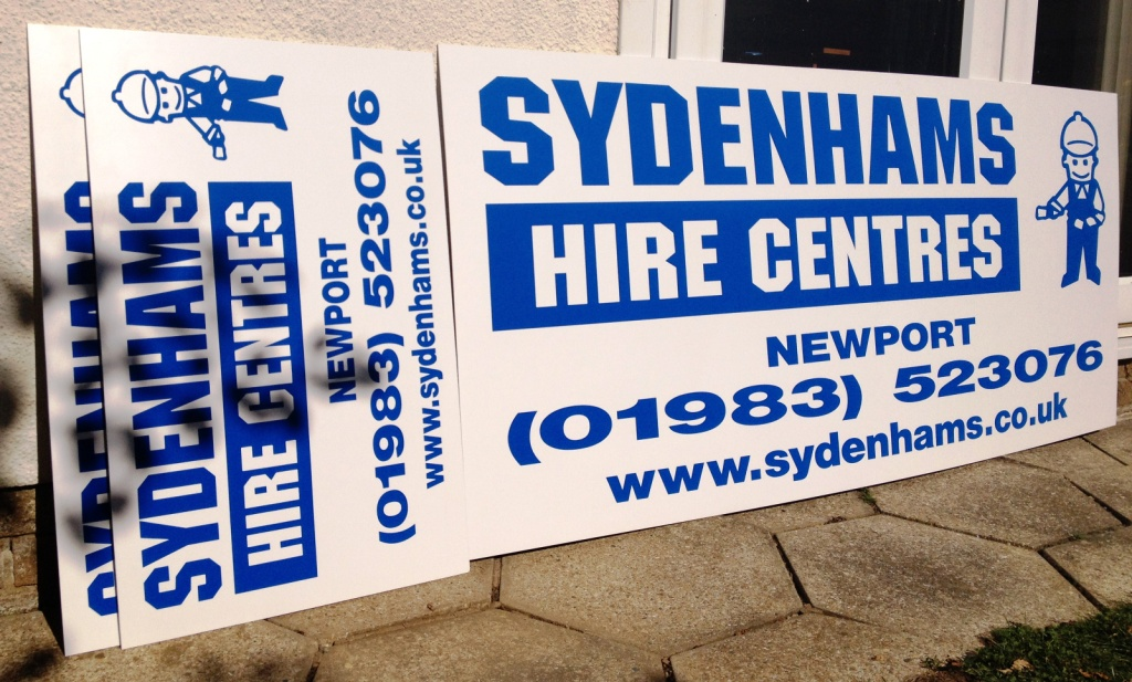 Premises/site signs