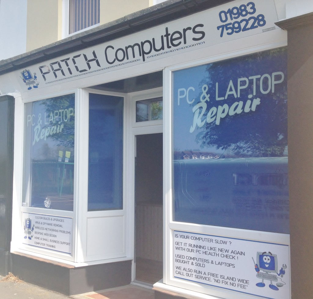 Shop fascia & window graphics